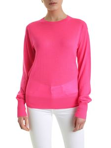 Helmut Lang - Neon Stitch cashmere pullover in pink