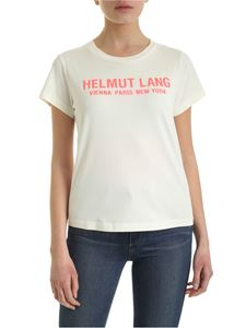 Helmut Lang - Baby T-shirt in ivory color