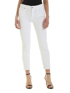 7 For All Mankind - Roxanne Ankle jeans in white