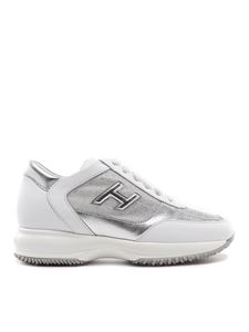 Hogan - Interactive leather sneakers