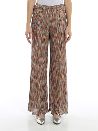 Missoni - Flamed knitted pants