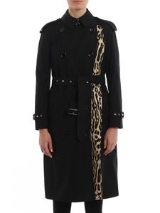 Burberry - Bridstow trench with Leo print lining