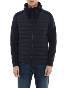 Herno - Jersey sleeves puffer jacket