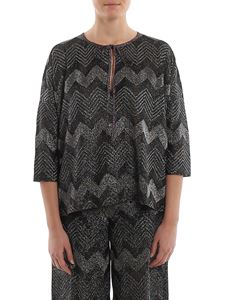 M Missoni - Chevron pattern blouse