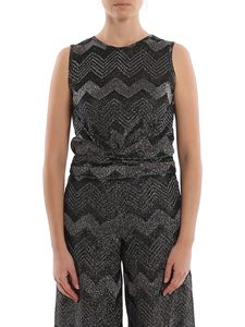 M Missoni - Chevron pattern tank top