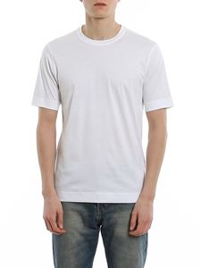 Z Zegna - Crewneck T-shirt in white