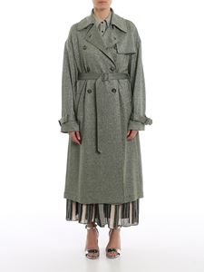 M Missoni - Viscose and lurex trench coat