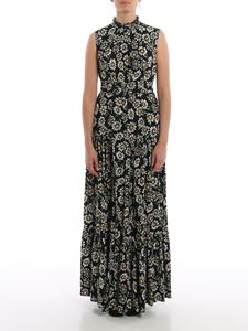 M Missoni - Flower print belted maxi dress