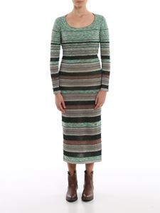 M Missoni - Striped long dress