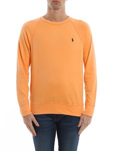 POLO Ralph Lauren - Felpa in cotone color arancio