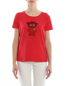 Emporio Armani - Manga Bear red T-shirt
