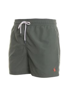 POLO Ralph Lauren - Logo embroidery swim shorts