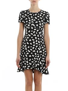 Michael Kors - Petal print crepe dress