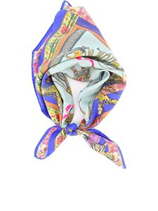 Etro - Patterned silk scarf