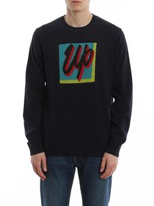 Paul Smith - Mohair Up inlay cotton sweater