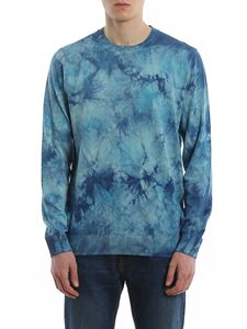 Paul Smith - Faded effect cotton crew neck sweater