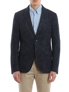 Etro - Paisley patterned cotton and linen jacket