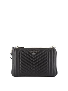 Michael Kors - Clutch Jet Set Charm in pelle trapuntata