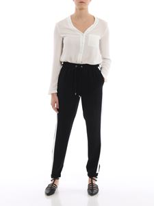 Michael Kors - Side band tech fabric tracksuit bottoms