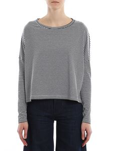 Dondup - Striped long-sleeved T-shirt