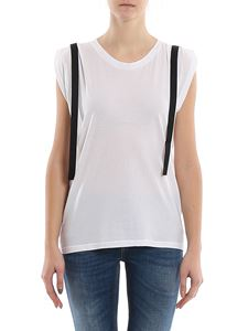 Dondup - Ribbons detailed tank top