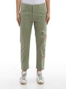 Dondup - Dylan embroidered trousers