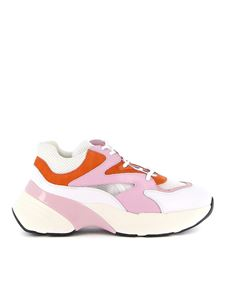 Pinko - Maggiorana pink and orange sneakers
