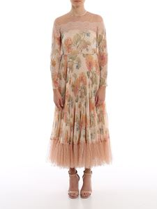 Red Valentino - Floral printed muslin dress