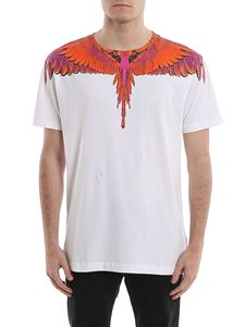 Marcelo Burlon County Of Milan - Red Wings white T-shirt