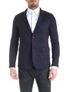 Emporio Armani - Unlined jacket in blue
