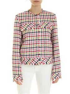 Karl Lagerfeld - Multicolor jacket with fringes on the edges