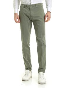 Briglia 1949 - Slim fit chino pants in green