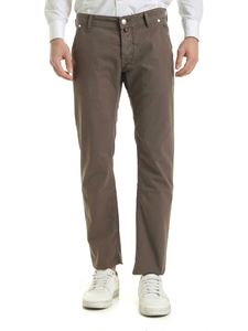 Jacob Cohën - 5-pocket pants in brown