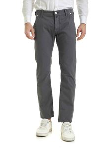 Jacob Cohën - 5-pocket pants in gray