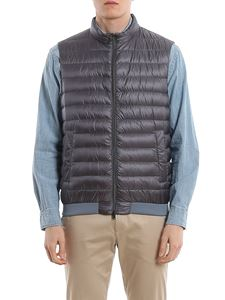 Herno - Front zip padded gilet