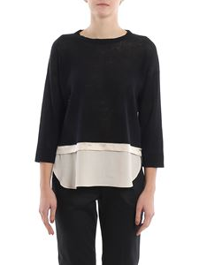 Peserico - Point light embellished sweater