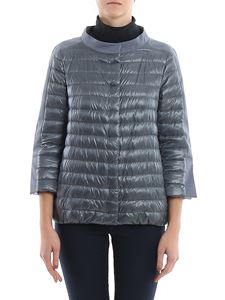 Herno - Cape style puffer jacket