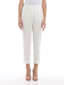 Peserico - Point light embellished white pants