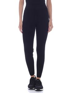 Michael Kors - Leggings in black with MK band