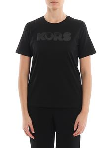 Michael Kors - Sequin embroidered logo T-shirt