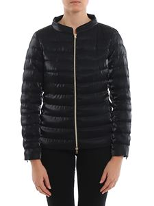 Herno - Shimmering quilted puffer jacket