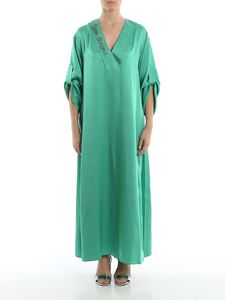 Giada Benincasa - Crystal Ciao Amore satin dress