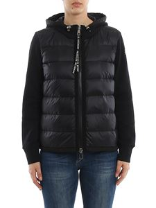 Moncler - Padded front stretch cotton hooded jacket