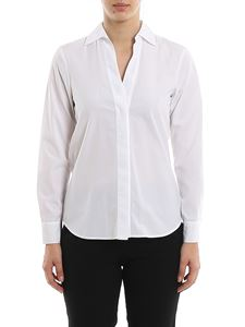 Barba - V neck cotton shirt