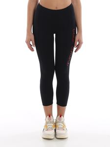 Giada Benincasa - Ciao Amore printed leggings in black