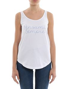 Giada Benincasa - Pensami Sempre embroidered tank top