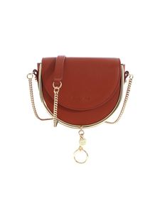 See by Chloé - Mara shoulder bag in Brick Red color