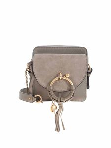 See by Chloé - Joan camera bag in Motty Gray color