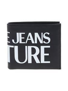 Versace Jeans Couture - Wallet in black with white print