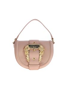 Versace Jeans Couture - Baroque Buckle shoulder bag in antique pink